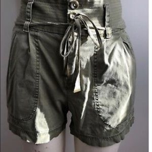 Marc Jacobs high waisted cargo shorts